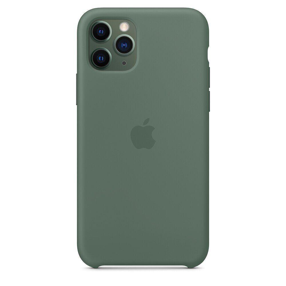 Силиконовый чехол для Apple iPhone 11 Pro Max (Pine Green)