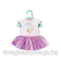Одежда для кукол Бэби Борн Baby Born 36 см футболка с балетной юбкой