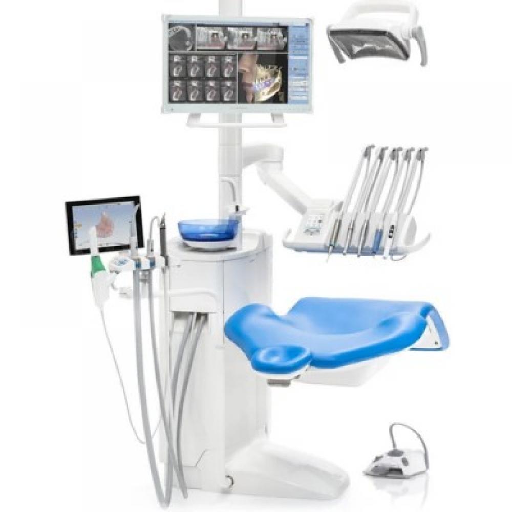 Planmeca Compact i Touch - стоматологическая установка с сенсорной панелью