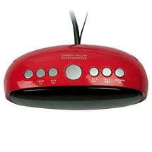 Радиочасы электронные Ritmix RRC-616 с питанием от сети (Красный), фото 2