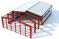 Изготовление металлоконструкций, стальных каркасов, легких металлоконструкций для быстровозводимых зданий