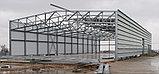 Изготовление металлоконструкций, стальных каркасов, легких металлоконструкций для быстровозводимых зданий, фото 4
