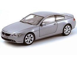 1/18 Kyosho Коллекционная модель BMW 645 Ci, серебристый