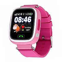 Детские смарт часы с GPS трекером Smart Baby Watch Q90 (розовые)