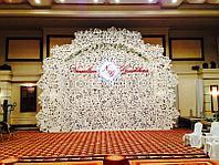 Изготовление и аренда свадебного баннера