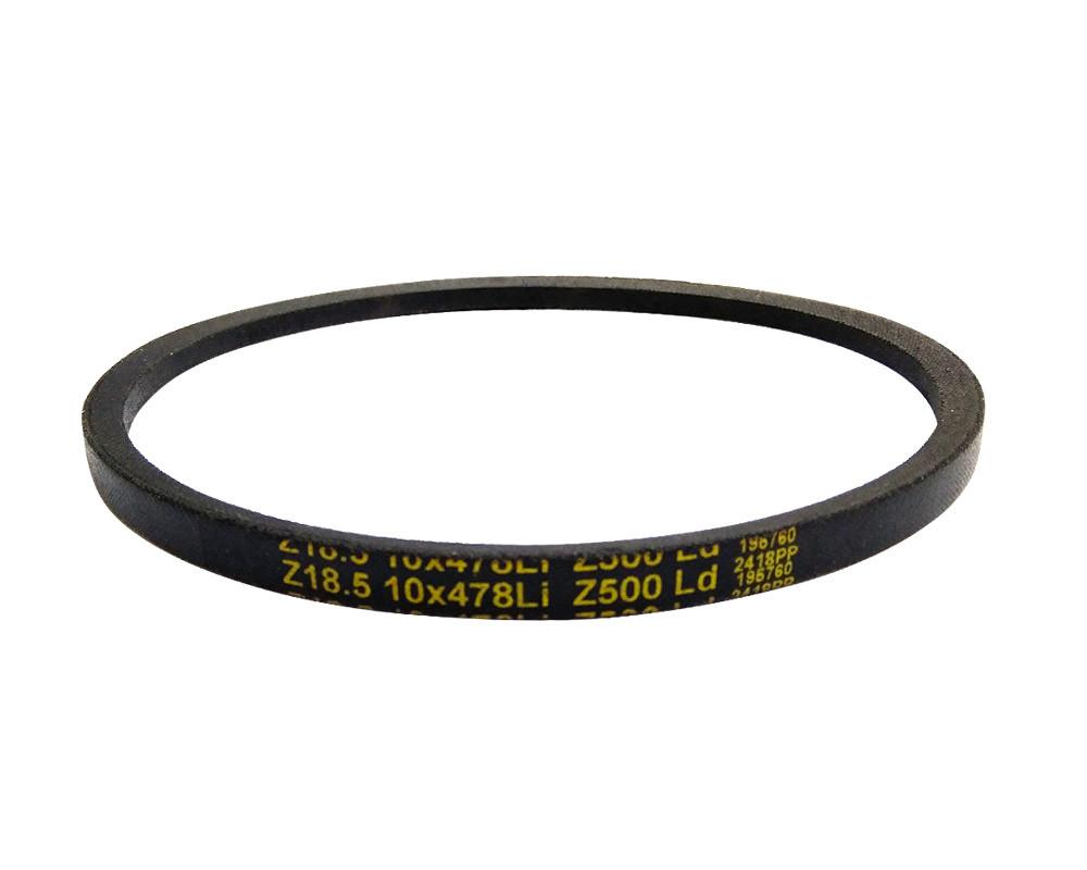 DELTA CLASSIC Z18.5 10x478 Li/500 Lw (Z(O)) Ремень клиновой  для шлифовального станка BELMASH BDG 100/152