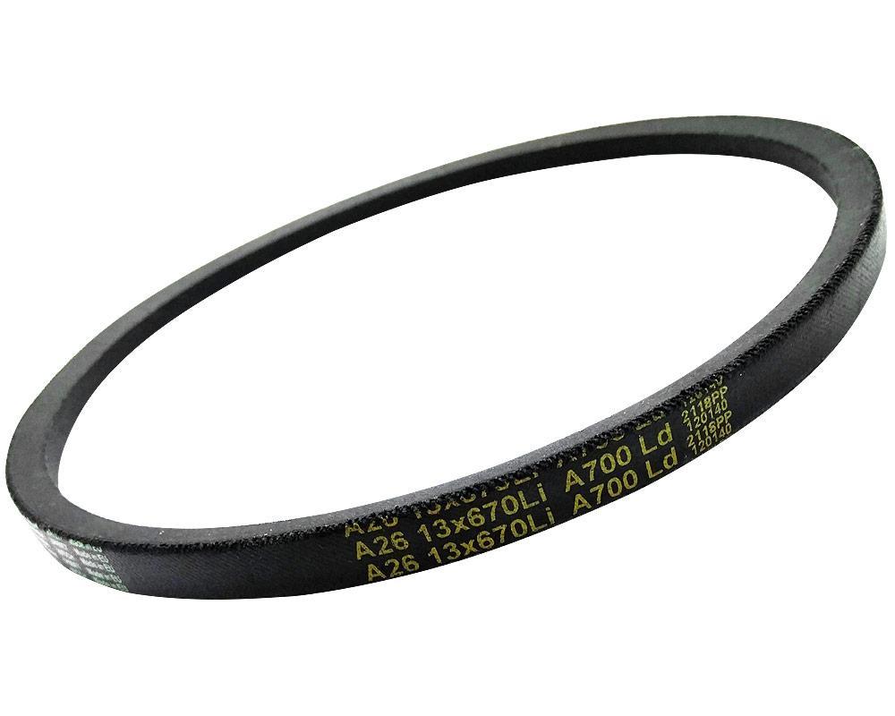 Bucefalo A 26 13x700LP/670LI (A 670) Ремень клиновой для шлифовального станка BELMASH BDG 152/228