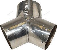 NORDBERG ПЕРЕХОДНИК Y-образный AT100 металлический для шланга D=100мм.