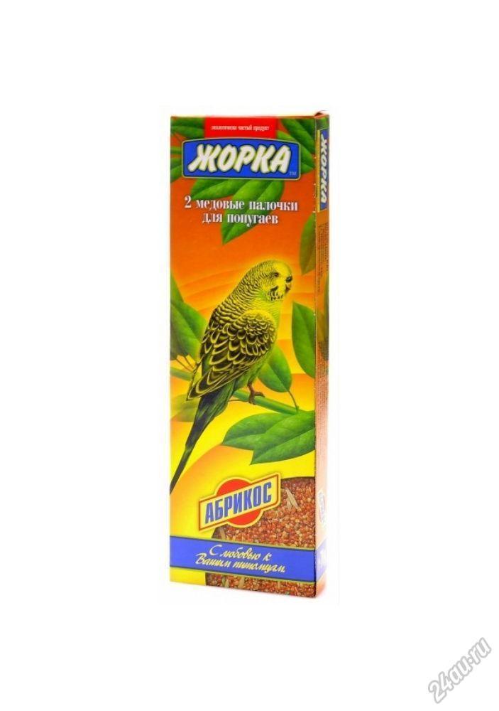 Жорка Медовые палочки для попугаев Абрикос