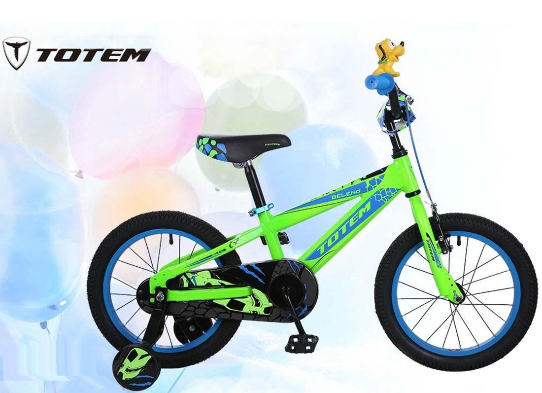 Totem Велосипед Beleno 16 - green-blue