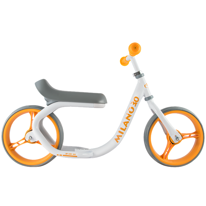 Беговел Milano 3.0 от Tech Team, бело-оранжевый