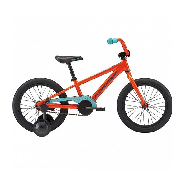 Велосипед Cannondale 16 M Kids Trail SS - 2018 ARD-aciid red