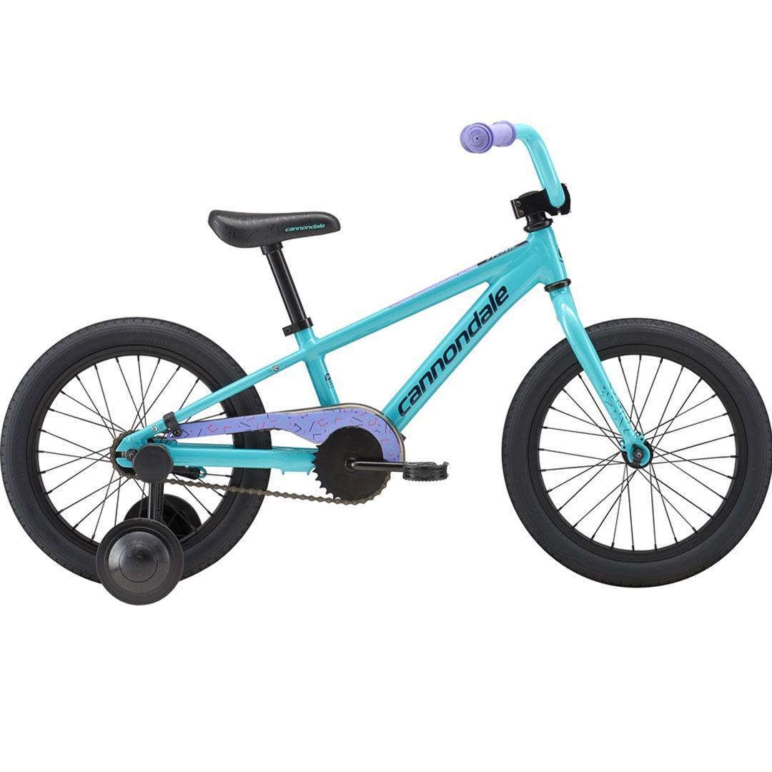 Велосипед Cannondale 16 M Kids Trail SS - 2019 TRQ-turquoise