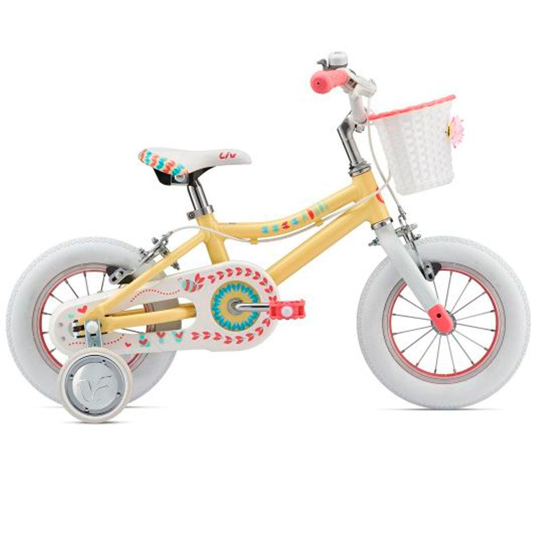 Детский велосипед Giant Liv Adore 12 - Светло-желтый