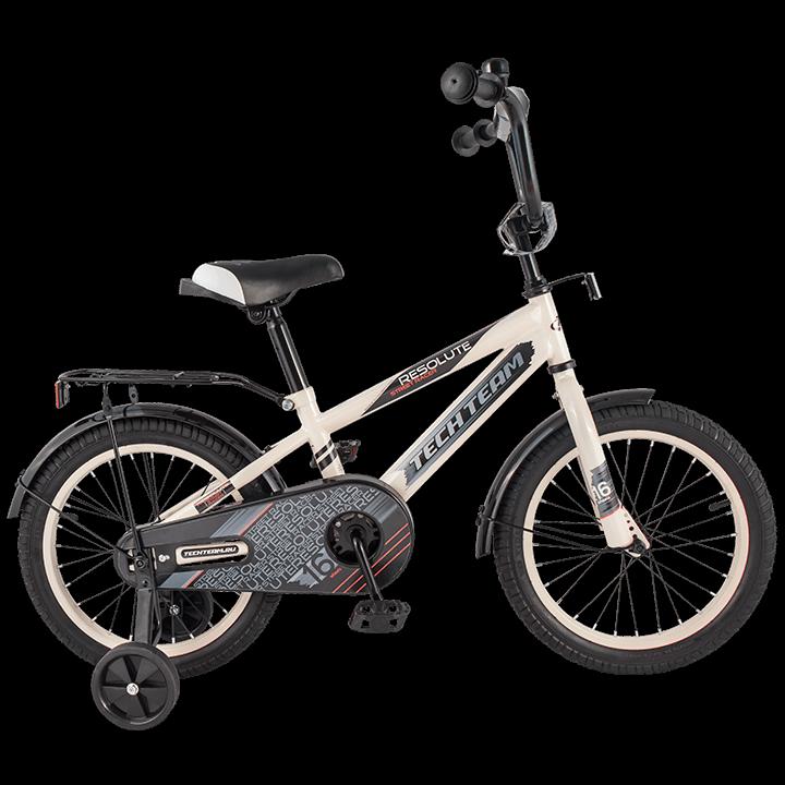 """Детский велосипед Tech Team 134 - 14"""" Белый"""