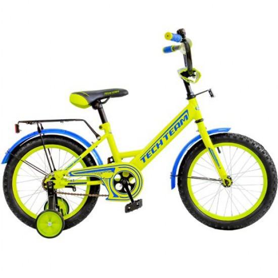 "Детский велосипед Tech Team 137 - 14"" Жёлтый"