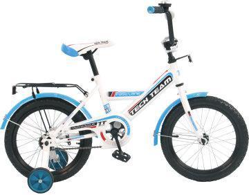 """Детский велосипед Tech Team 138 - 12"""" Голубой"""