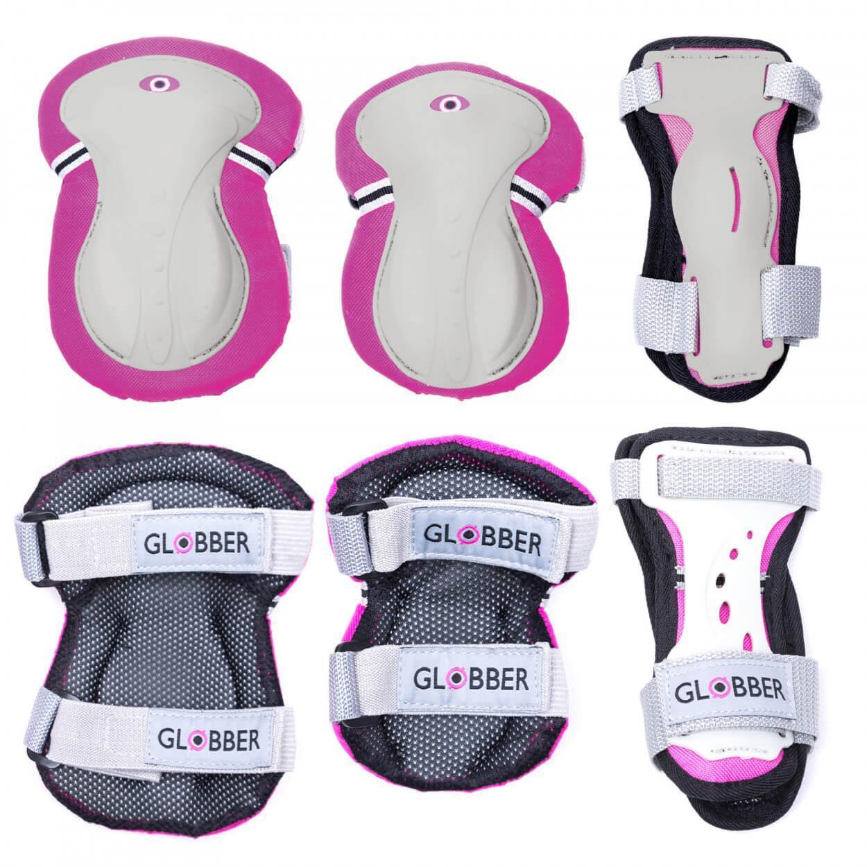 Набор детской защиты Globber XS, розовый (25 кг - 50 кг)