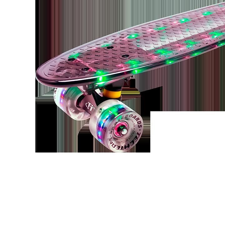 """Пластборд Transparent 22"""" Light от Tech Team, в ассортименте"""