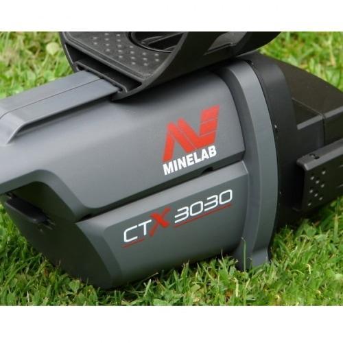 Грунтовый профессиональный металлоискатель с подключением к ПК и обновлением ПО Minelab CTX 3030