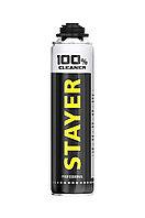 Очиститель монтажной пены 100% CLEANER, 500мл, STAYER