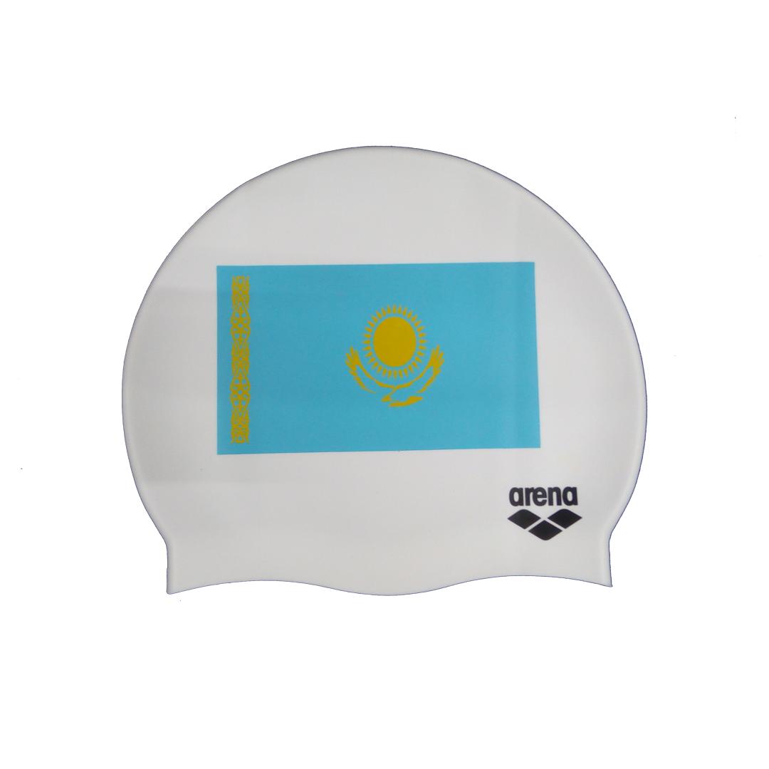 Arena  шапочка для плавания Silicone Kaz flag (10)