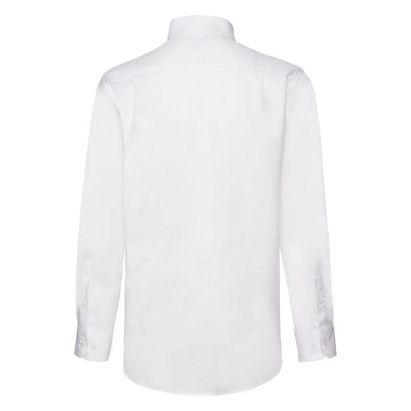 Рубашка мужская LONG SLEEVE OXFORD SHIRT 130, Белый, M, 651140.30 M - фото 2