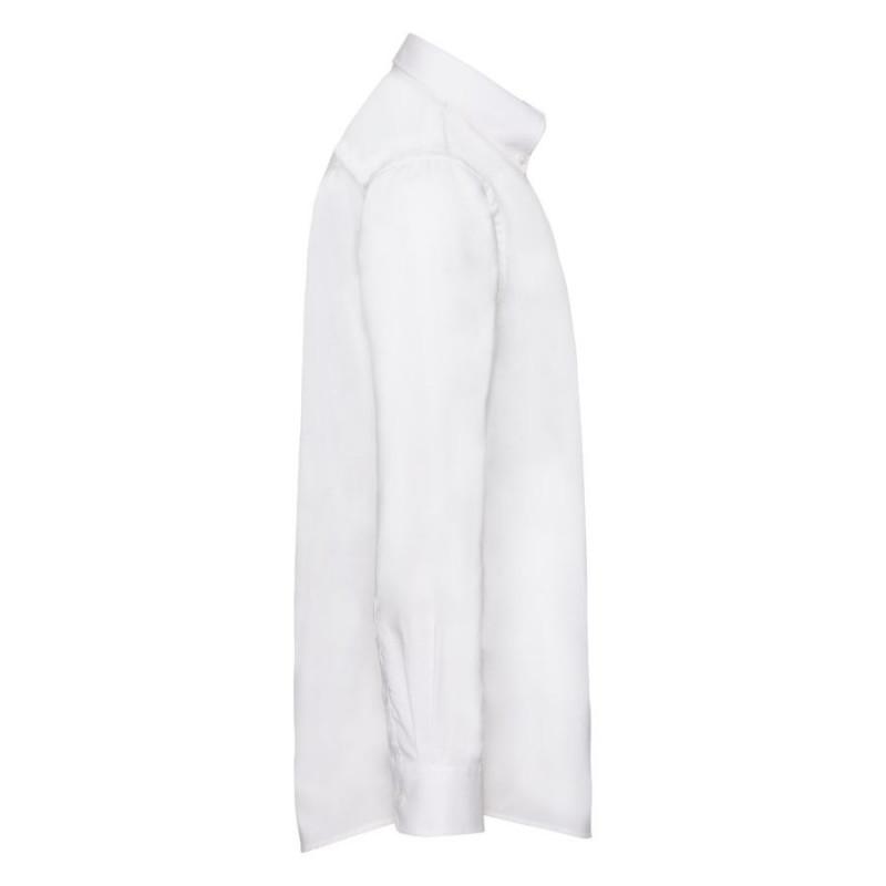 Рубашка мужская LONG SLEEVE OXFORD SHIRT 130, Белый, 2XL, 651140.30 2XL - фото 3