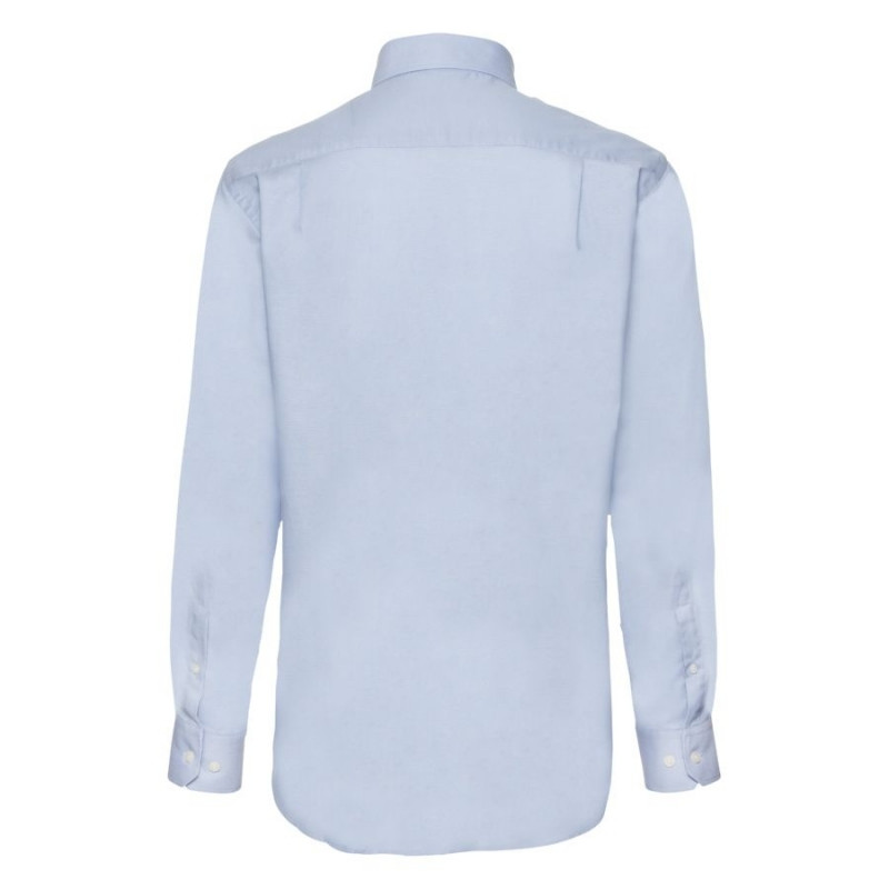 Рубашка мужская LONG SLEEVE OXFORD SHIRT 135, Голубой, XL, 651140.OD XL - фото 2