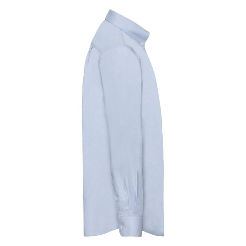 Рубашка мужская LONG SLEEVE OXFORD SHIRT 135, Голубой, XL, 651140.OD XL - фото 3