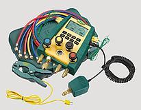 Цифровой манометрический коллектор Refco DIGIMON4-3-PLUS-CA-CLAMP-VAC