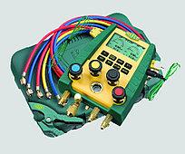 Цифровой манометрический коллектор Refco DIGIMON4-3-PLUS