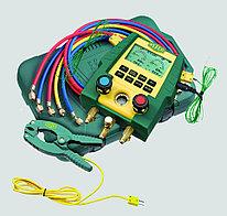 Цифровой манометрический коллектор Refco DIGIMON-SE-3-PLUS-CLAMP