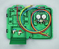 Двухвентильный манометрический коллектор Refco BM2-3-Auto-Set