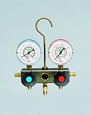 Манометрический коллектор на основные хладагенты Refco BM2-3-DS-SUPER