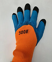 Перчатки облитые с черным ноготком 300, фото 1