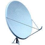 Антенна спутниковая, офсетная, параболическая, 1,8 м (1,8 к-т АУМ)