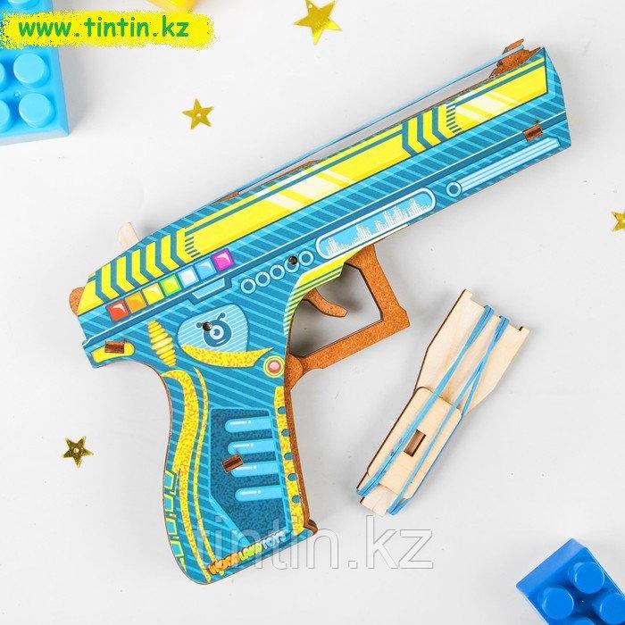 """Пистолет с резинками """"Космобой"""""""