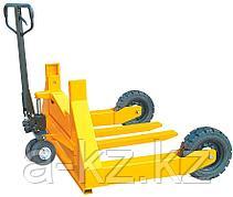 Тележка гидравлическая 1500 кг 800 мм TOR HW для  бездорожья (резиновые колеса)