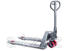Тележка гидравлическая TOR BX 2.5T 550*1150*85mm нержавеющая  сталь (полиуретан.колеса)