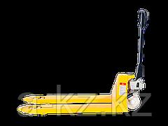 Тележка гидравлическая TOR PWH35-II 1,5 т 2400 мм  (полиуретановые колеса)