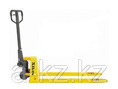 Тележка гидравлическая XILIN г/п 1000 кг BFL10  низкопрофильная (полиуретан.колеса)