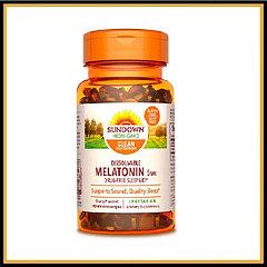 SUNDOWN Мелатонин 5мг (90таблеток)