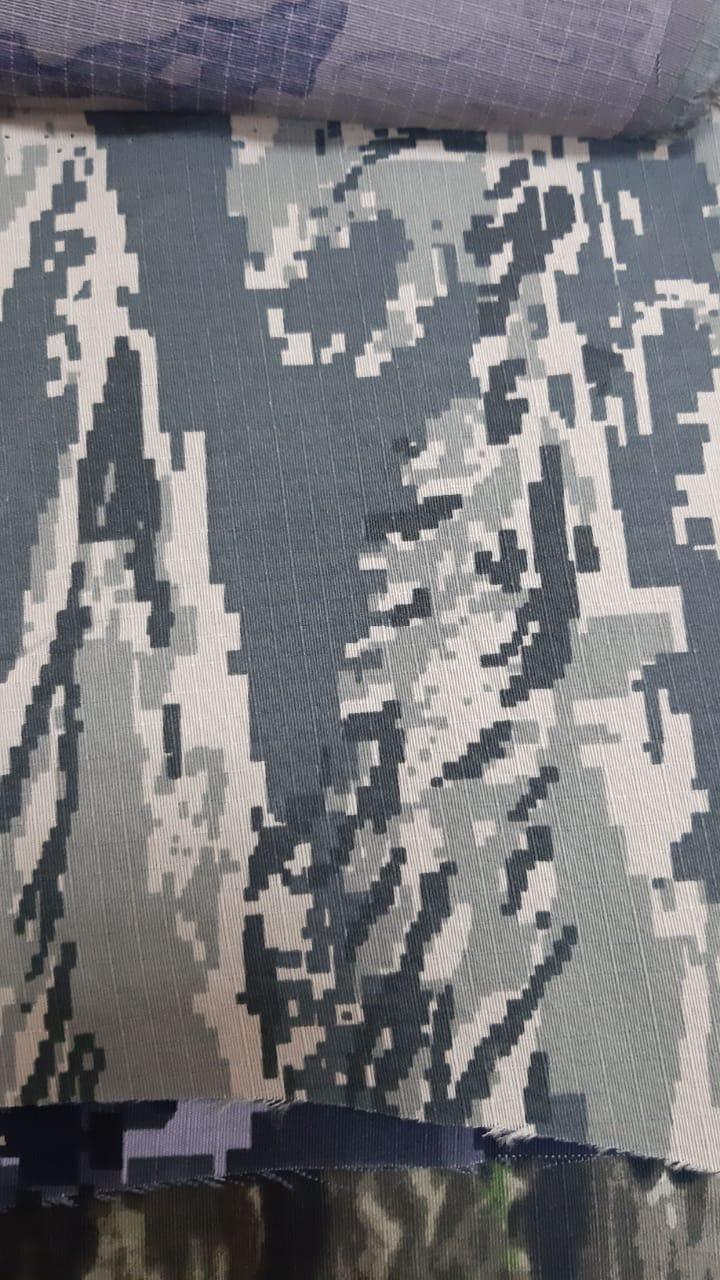 Китайская камуфляжная ткань. КМФ 8