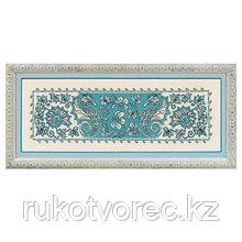 1703 Набор для вышивания Риолис 'Салфетка/панно 'Морской конёк' 62*32см