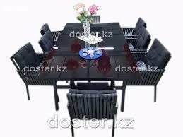 Банкетный Стол и 8 стульев ФЕЙЗ