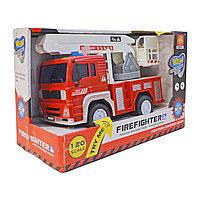 Пожарная машина Firefighter со звуковыми и световыми эффектами 1:20 (WY550C)
