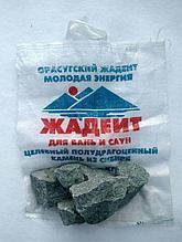 Жадеит, камень колотый, мешок10кг
