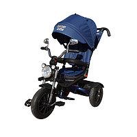 Детский велосипед Lexus Trike Moto с поворотным сиденьем (темно-синий), фото 1