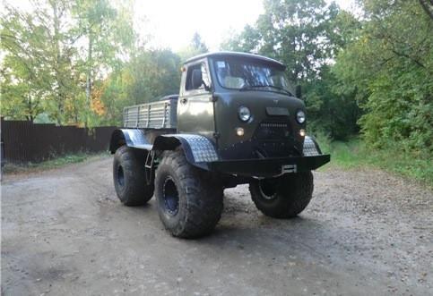 Болотоход на базе «УАЗ Бортовой»  4x4